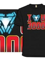 I Heart U Three Thousand T-Shirt