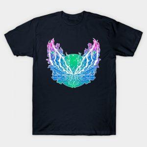 Kaiju Fantasy Moth T-Shirt