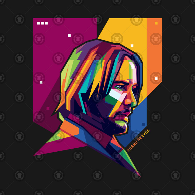 Keanu Reeves Pop Art