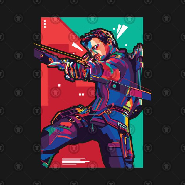 Marksman Heroes Pop Art