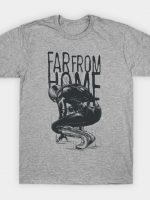 Monochrome Spiderman Far From Home T-Shirt