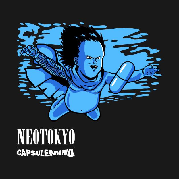 Neotokyo Capsulemind White Logo