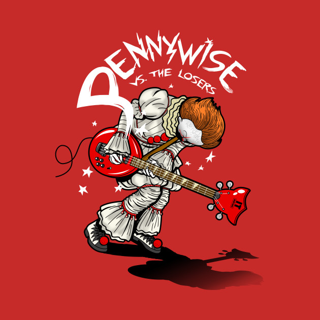 Pennywise versus the losers