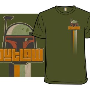 Retro Fett T-Shirt