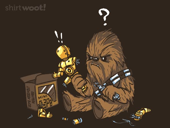 Chewbacca and C-3PO