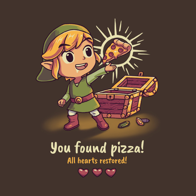 You found pizza!