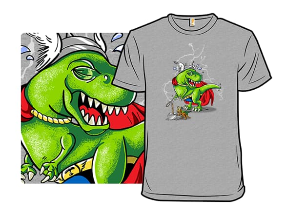 The Mighty DinoThor! T-Shirt