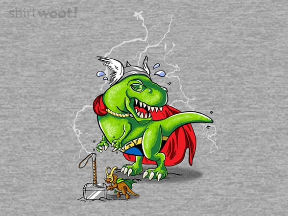The Mighty DinoThor!