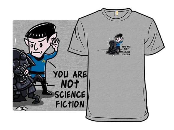 Star Trek/Star Wars T-Shirt