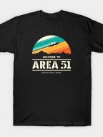 Welcome to Area 51 T-Shirt