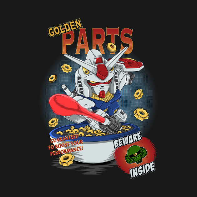 golden part rx 78 Cereal