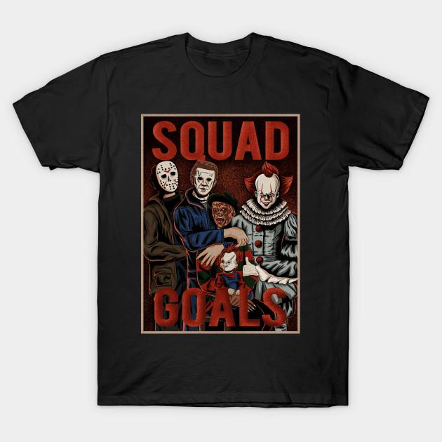 horror squad goals T-Shirt