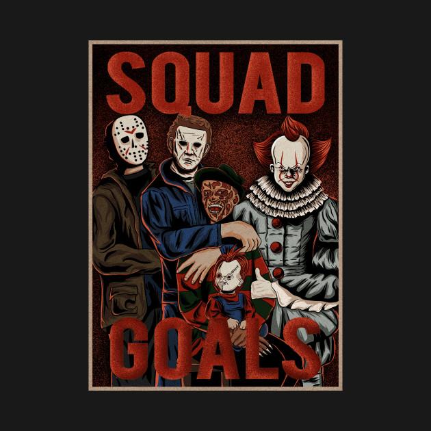 horror squad goals