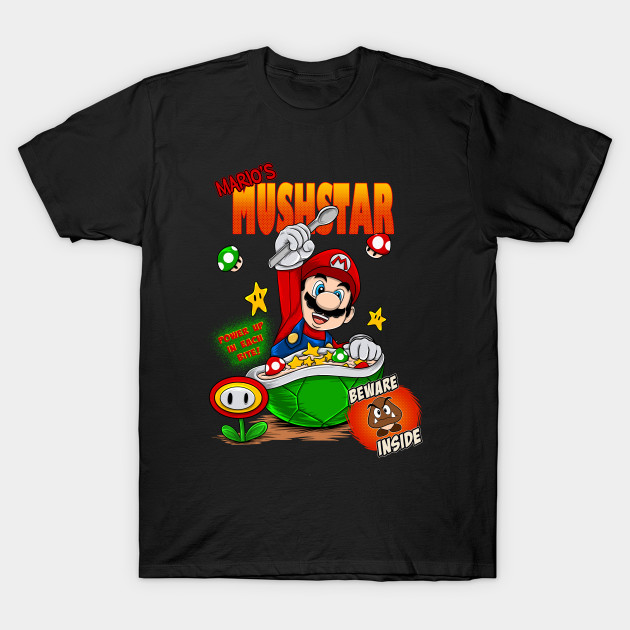 mario bros cereal T-Shirt