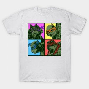 tmnt Ninja Turtles pop art