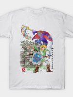Between Worlds Watercolor T-Shirt