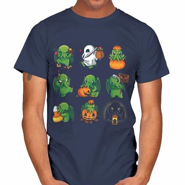 CALL OF HALLOWEEN Cthulhu T-Shirt