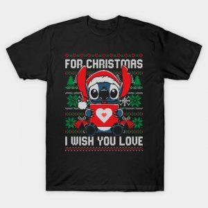 Christmas Love Stitch T-Shirt