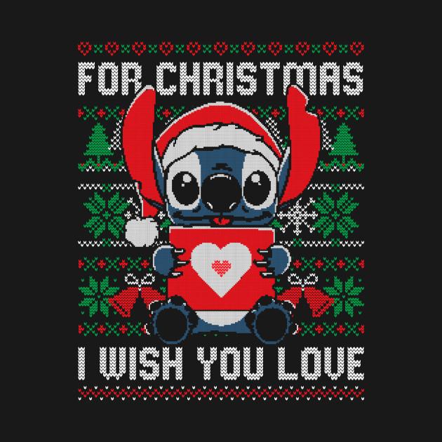 For Christmas I Wish You Love