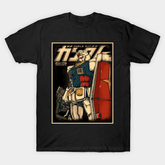 Classic Gundam T-Shirt