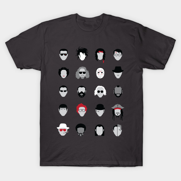 Classic Movie Characters T-Shirt