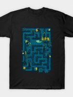 Crystal Lake Maze T-Shirt