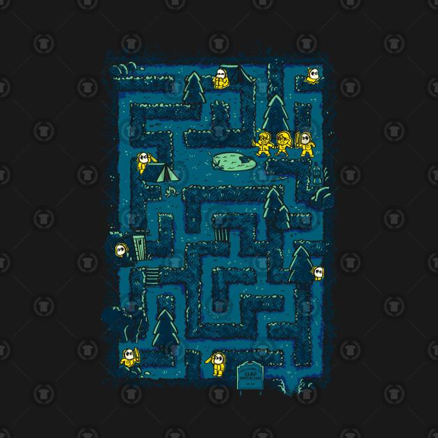 Crystal Lake Maze