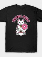 Donuts cat logo T-Shirt