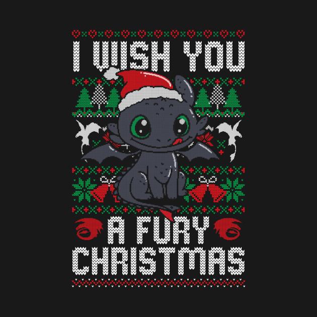I Wish You a Fury Christmas