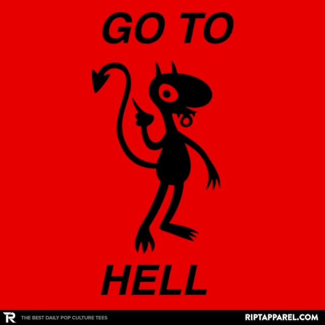 GO TO HELL,