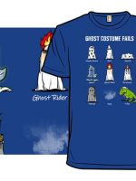 Ghost Costume Fails T-Shirt