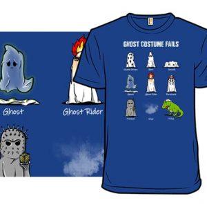 Ghost Costume Fails T-Shirt