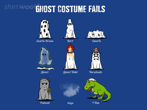 Ghost Costume Fails