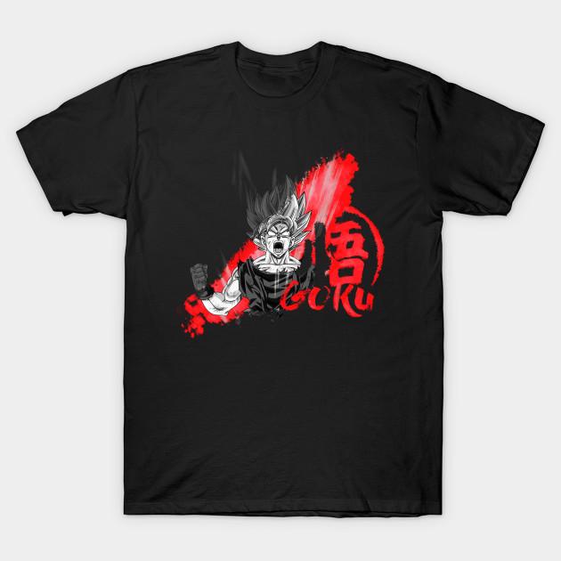 Goku RedPaint