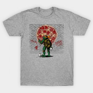 Graffiti Mutant Ninja Turtle T-Shirt