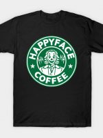 Happy Face Coffee - Green T-Shirt