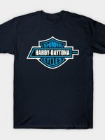 Hardy-Daytona Shinra Cycles - Blue T-Shirt
