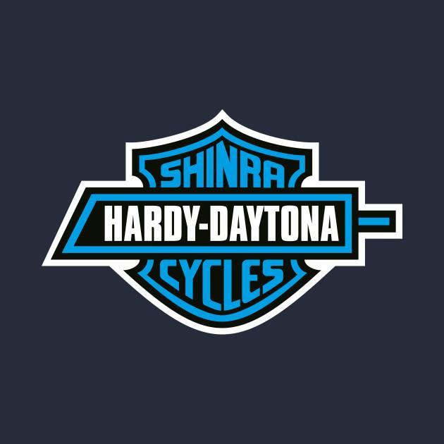 Hardy-Daytona Shinra Cycles - Blue