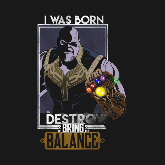 I WAS BORN TO BRING THE BALANCE