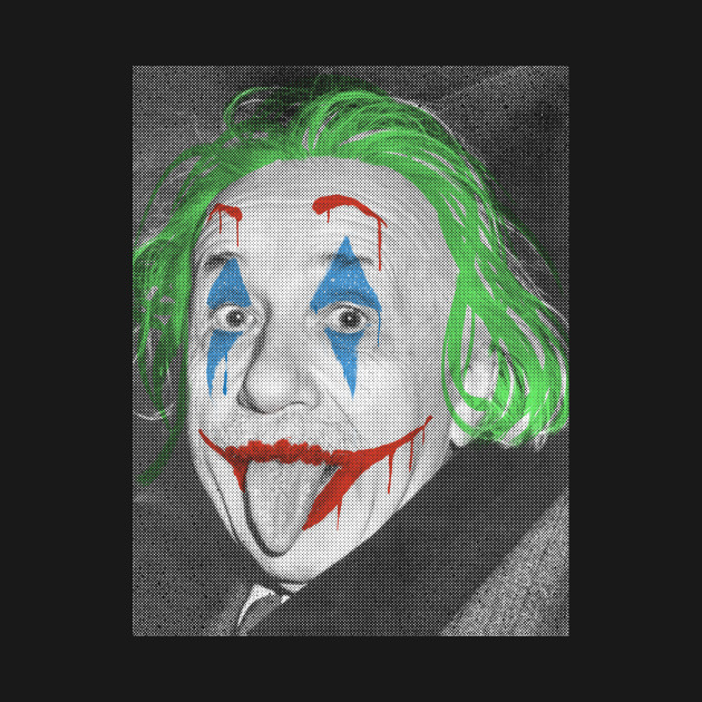 Joker/Albert Einstein