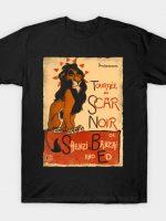Le Scar Noir T-Shirt