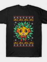 Lion christmas ugly sweater T-Shirt