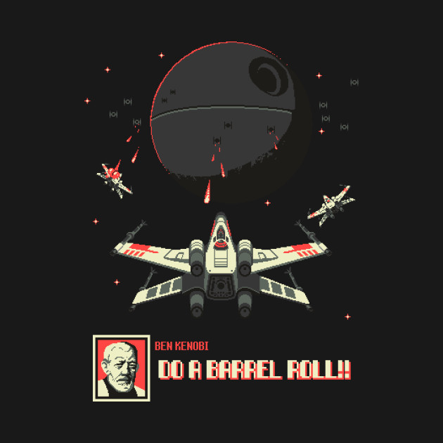 Luke, do a barrel roll!