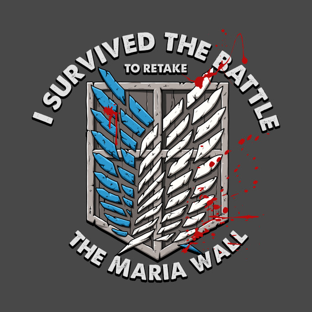 I Survived the Battle to Protect the Maria Wall