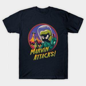 Marvin Attacks! T-Shirt