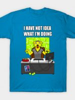 Mr Peanubutter has no idea T-Shirt