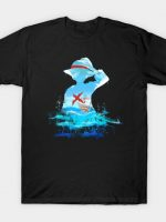 One Piece Strawhat on Sea T-Shirt