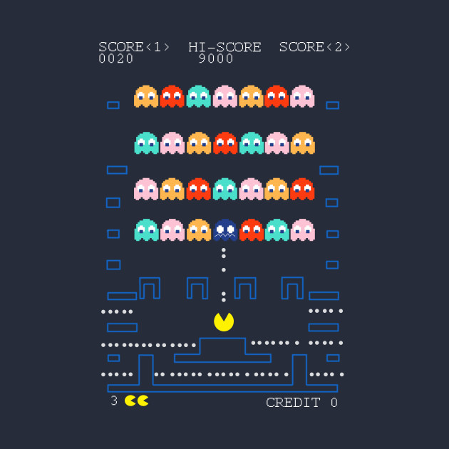 Pacman Space Invaders