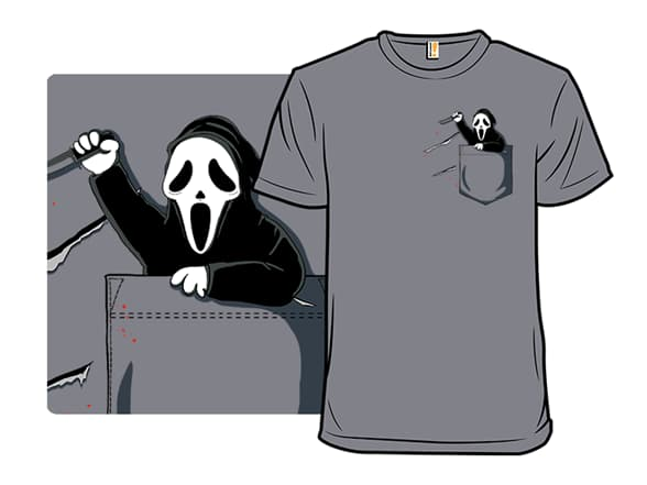 Pocket Killers Ghostface T-Shirt