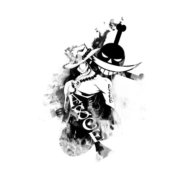 Portgas D.Ace Black Fire v1